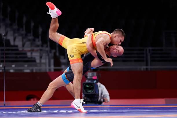 JPN: Wrestling - Olympics: Day 12