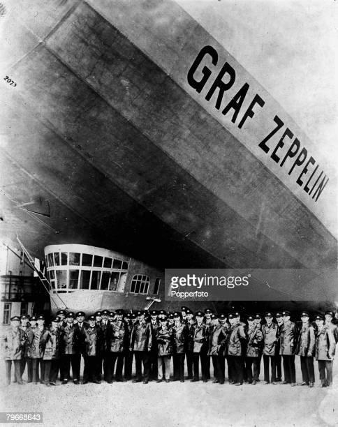 Germany's giant Graf Zeppelin 1928