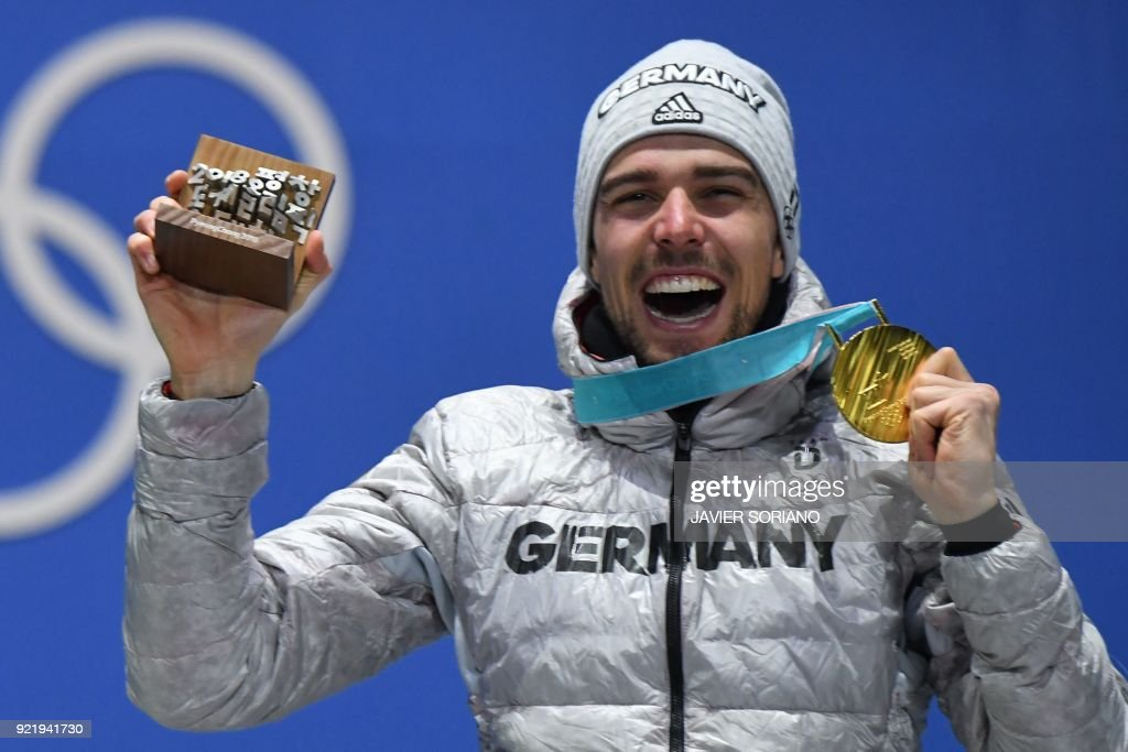 NORDIC COMBINED-OLY-2018-PYEONGCHANG-MEDALS : News Photo