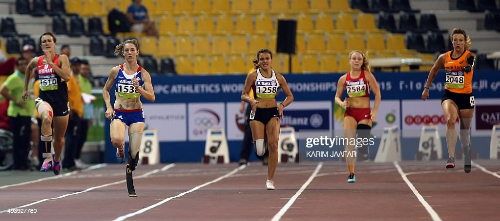 ATHLETICS-QAT-PARALYMPICS-WC2015-IPC : News Photo