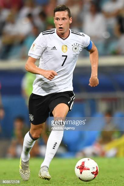 Germany's Julian Draxler during match the FIFA Confederations Cup 2017 between Germany and Mexico in Sochi Russia on June 29 2017