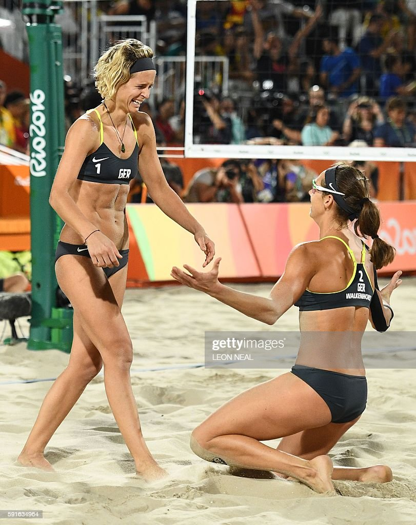 BEACH VOLLEYBALL-OLY-2016-RIO-BRA-GER : News Photo