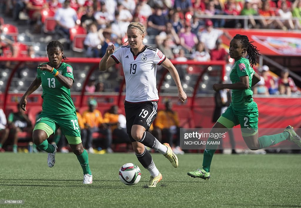 FBL-WC-2015-WOMEN-MATCH3-GER-CIV : News Photo