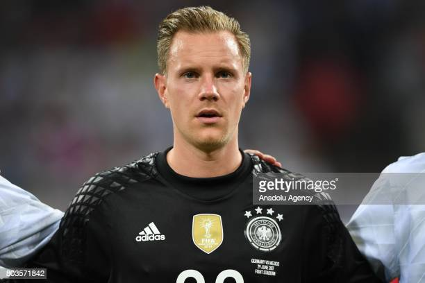 Germany's MarcAndre Ter Stegen before match the FIFA Confederations Cup 2017 between Germany and Mexico in Sochi Russia on June 29 2017