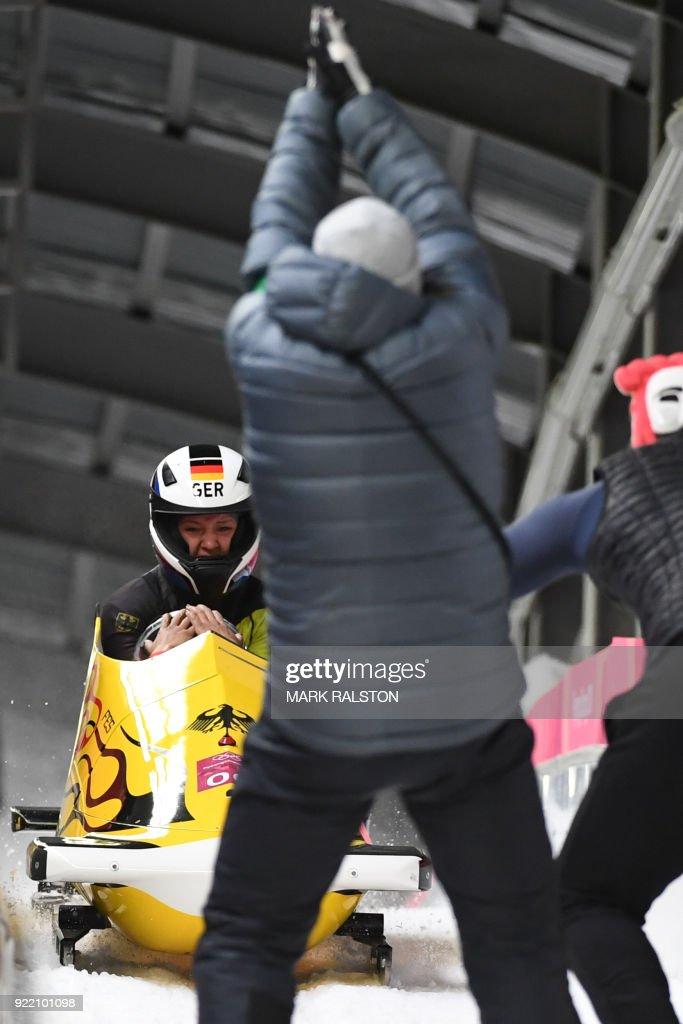 BOBSLEIGH-OLY-2018-PYEONGCHANG : News Photo