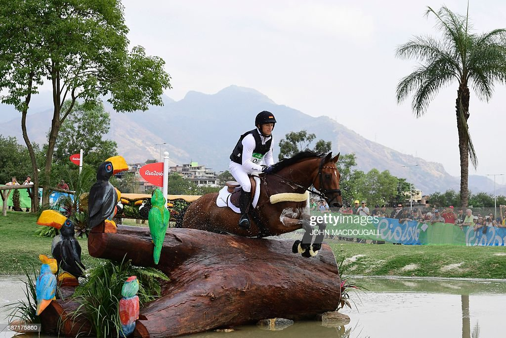 EQUESTRIAN-OLY-2016-RIO : News Photo