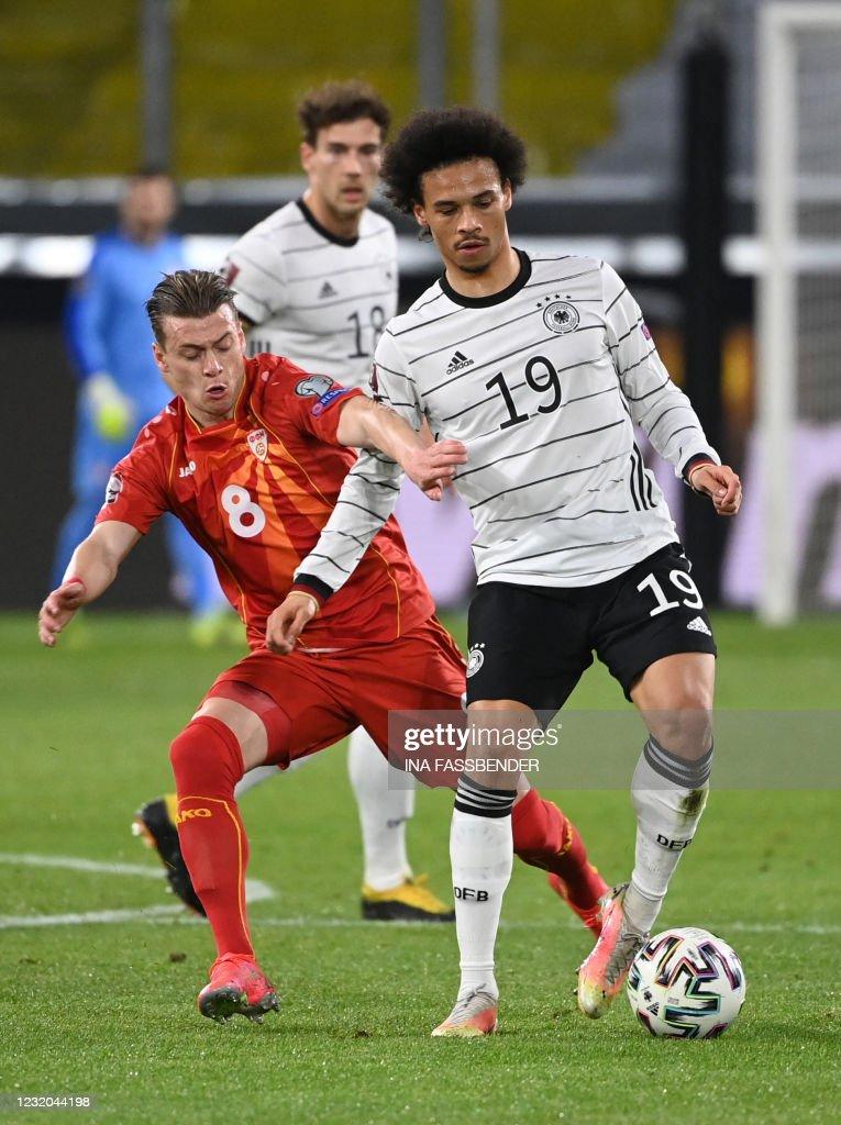 FBL-WC-2022-EUR-QUALIFERS-GER-MKD : Nieuwsfoto's