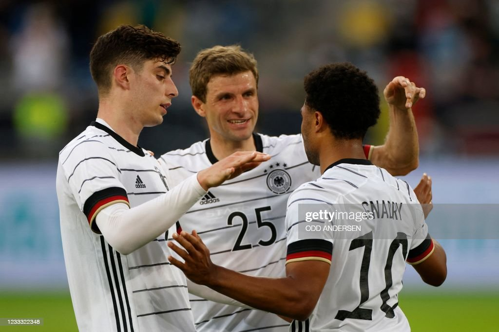 FBL-EURO-2020-2021-FRIENDLY-GER-LAT : News Photo