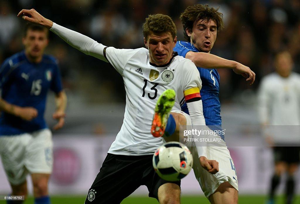 FBL-EURO-2016-FRIENDLY-GER-ITA : ニュース写真