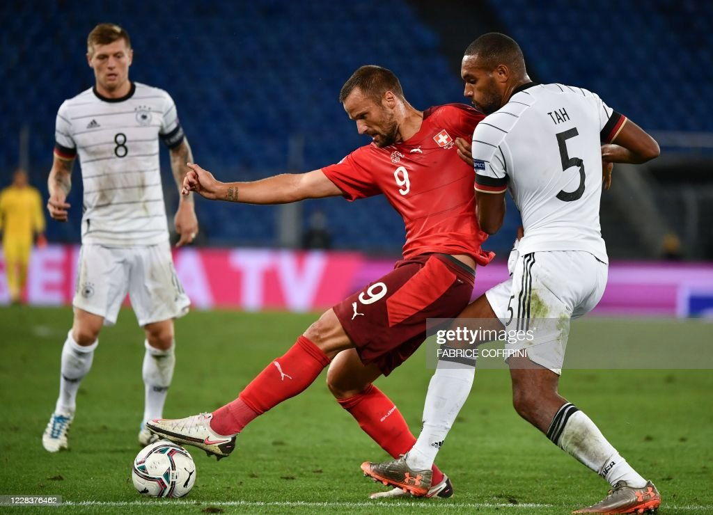 FBL-EUR-NATIONS-SUI-GER : News Photo