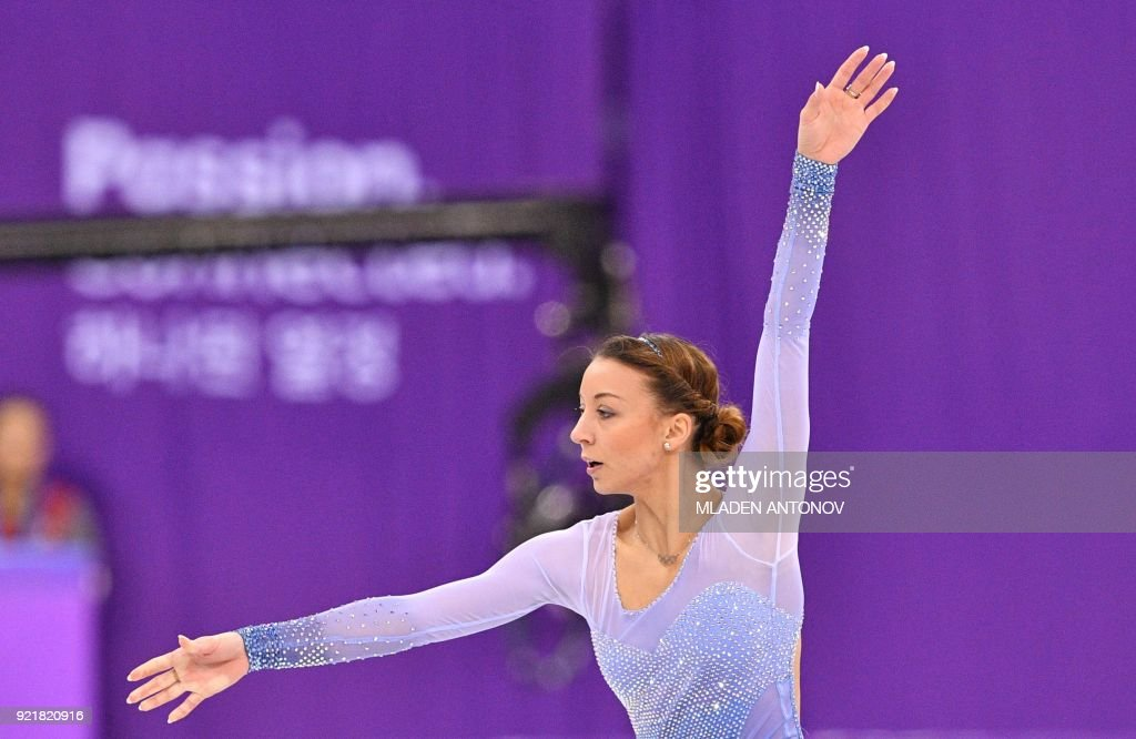 FSKATING-OLY-2018-PYEONGCHANG : News Photo
