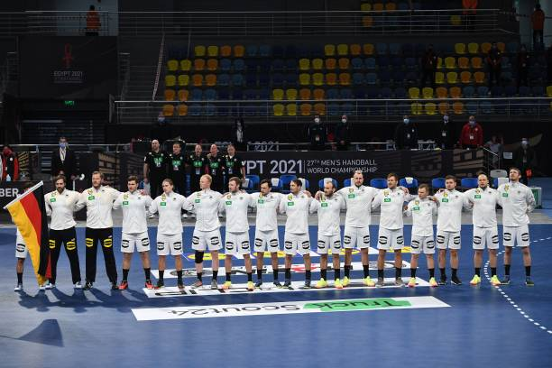 UNS: Germany  v Hungary - IHF Men's World Championships Handball 2021