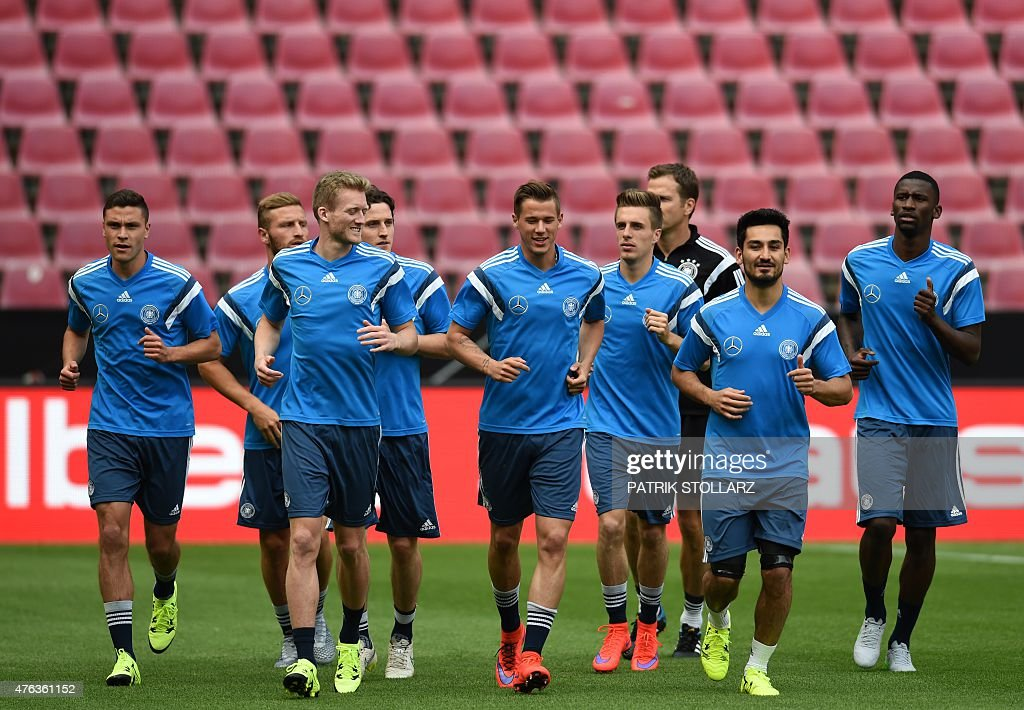 FBL-EURO-2016-FRIENDLY-GER-USA : News Photo