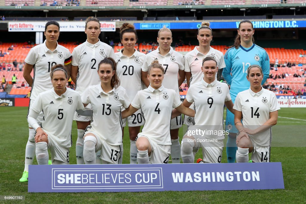 SOCCER: MAR 07 SheBelieves Cup - Germany v England : News Photo