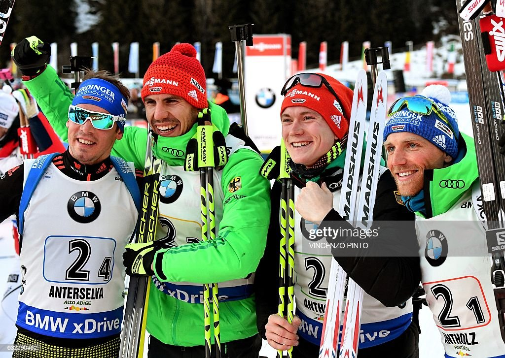 BIATHLON-WORLD-MEN : ニュース写真