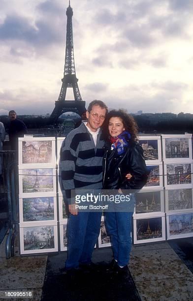 Gernot Endemann Ehefrau Jocelyne Boisseau Paris Frankreich Europa Bilder Eiffelturm Wahrzeichen Prominenter Schauspieler dah