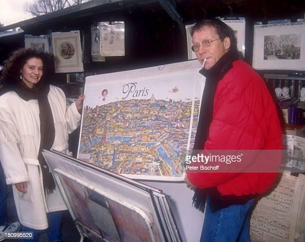 Gernot Endemann Ehefrau Jocelyne Boisseau Paris Frankreich Europa Bilder Zigarette Prominenter Schauspieler dah