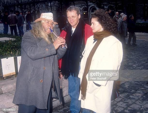 Gernot Endemann Ehefrau Jocelyne Boisseau Paris Frankreich Europa Straßenmusikant Prominenter Schauspieler dah
