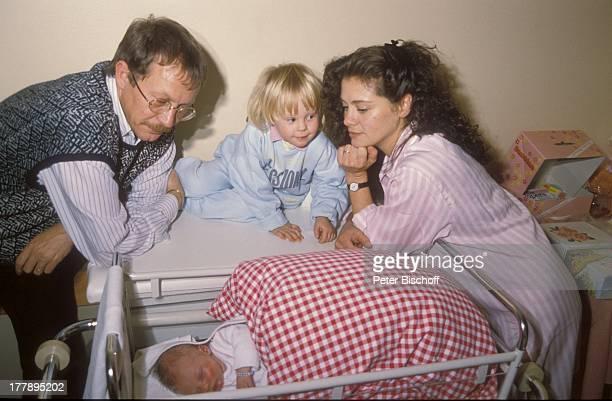 Gernot Endemann, Ehefrau Jocelyne Boisseau, Tochter Marine Endemann , Alicia Endemann , Krankenhaus, Hamburg, Deutschland, Europa, Klinik,...
