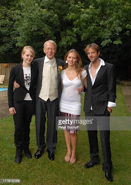 Gernot Endemann Sohn Till Tochter Marine Tochter Alicia Hochzeitsfeier Restaurant Paradies Hannover Niedersachsen Deutschland Europa Familie Kinder...