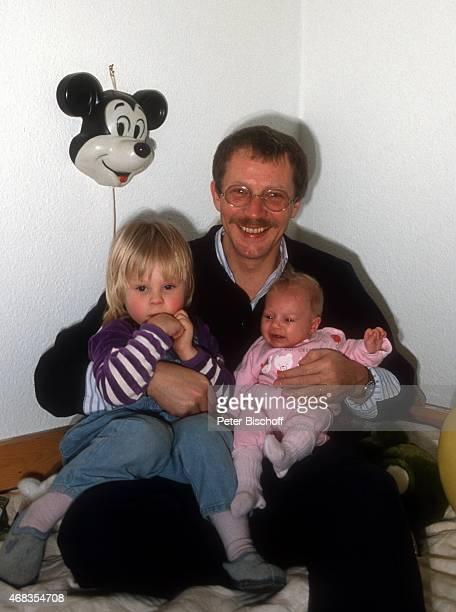 'Gernot Endemann Tochter Marine Endemann und Tochter Alicia Endemann Homestory am in Hamburg Deutschland '