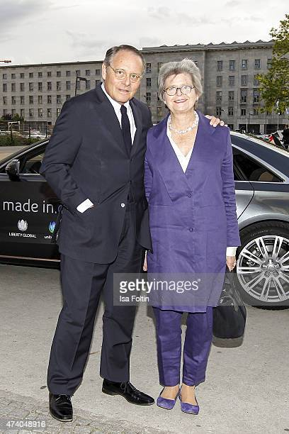Gero von Boehm and his wife Christiane attend the made inde Award 2015 on May 19 2015 in Berlin Germany