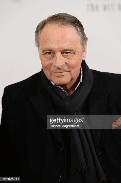 Gero von Boehm attend the premiere of the film 'Der Clan Die Geschichte der Familie Wagner' at Gloria Palast on January 15 2014 in Munich Germany