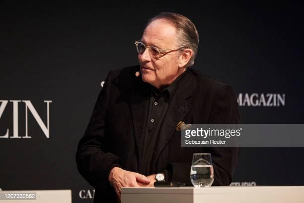 Gero von Boehm is seen at the panel talk with UNLOCK Film by ZEITmagazin at ewerk on February 19 2020 in Berlin Germany
