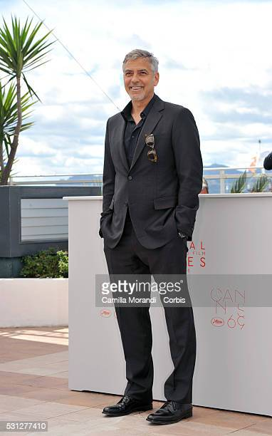 Geroge Clooney attends 'Money Monster' photocall prior to the 69th annual Cannes Film Festival on May 10 2016 in Cannes France