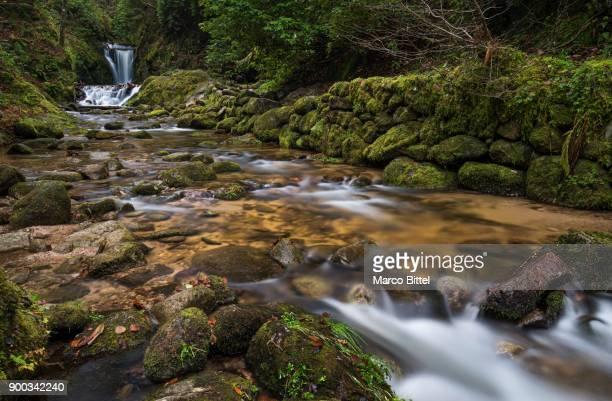 Geroldsauer Wasserfall, Grobbach River, Geroldsau, Baden-Baden, North Black Forest, Baden-Wuerttemberg, Germany