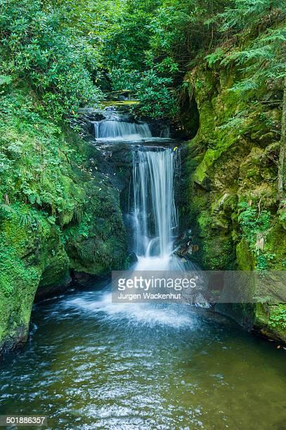 Geroldsauer Wasserfall waterfall, Schwarzwald, Baden-Baden, Baden-Wurttemberg, Germany