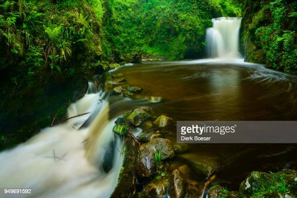 Geroldsauer Wasserfall, waterfall, Schwarzwald, Baden-Baden, Baden-Wuerttemberg, Germany
