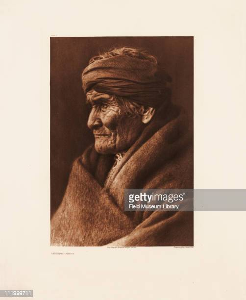Geronimo Apache Plate 2 by Edward Curtis mid to late 1900s