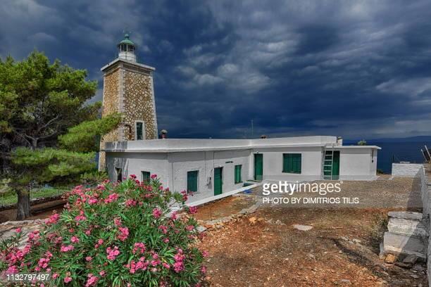 Geroplina's or Trikeri or Kavoulia lighthouse complex