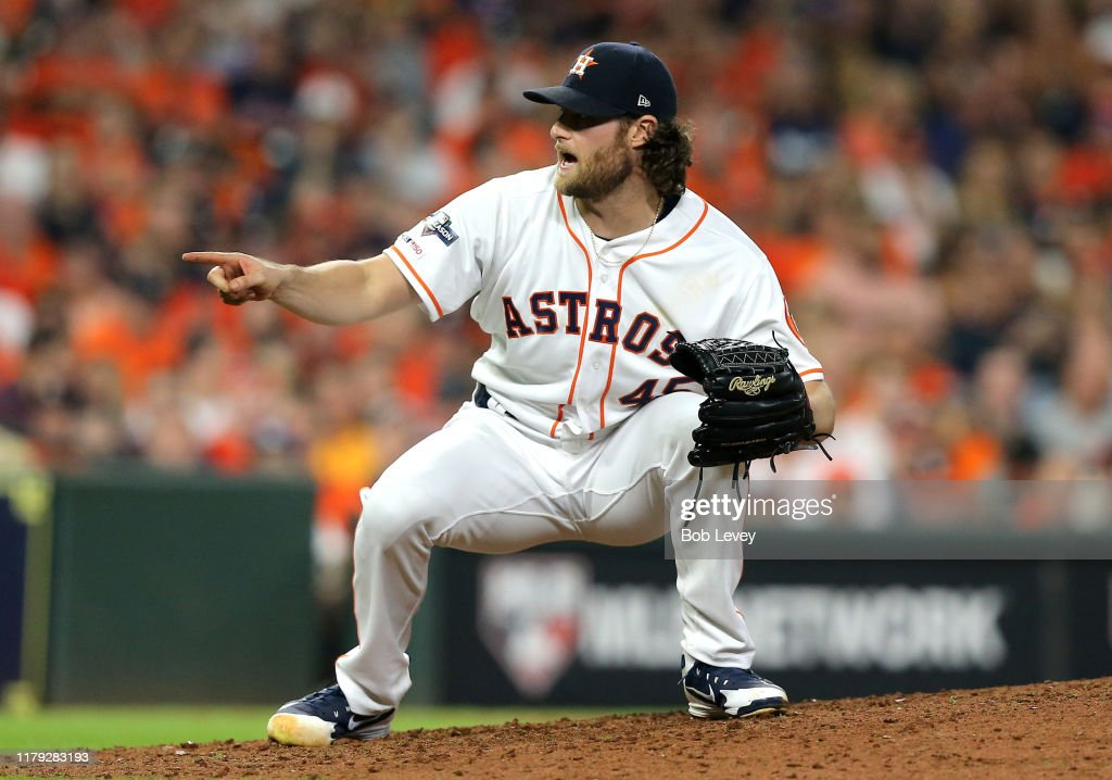 Divisional Series - Tampa Bay Rays v Houston Astros - Game Two : News Photo