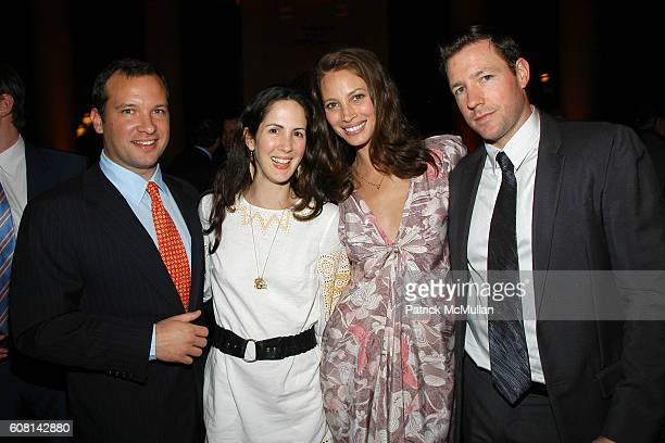 Gerrity Lansing Patricia Herrera Lansing Christy Turlington and Ed Burns attend VANITY FAIR Tribeca Film Festival Party hosted by GRAYDON CARTER and...
