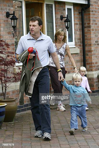 Gerry and Kate McCann leave their home in Rothley Leicestershire in central England with daughter Amelie and son Sean 12 September 2007 As the...