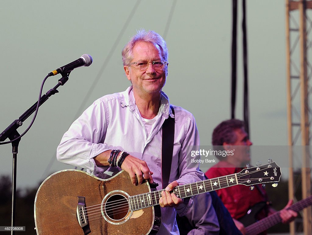 Gerry Beckley of America attends the 2014 Quick Chek New Jersey Festival of Ballooning at Solberg Airport on July 25, 2014 in Readington, New Jersey.