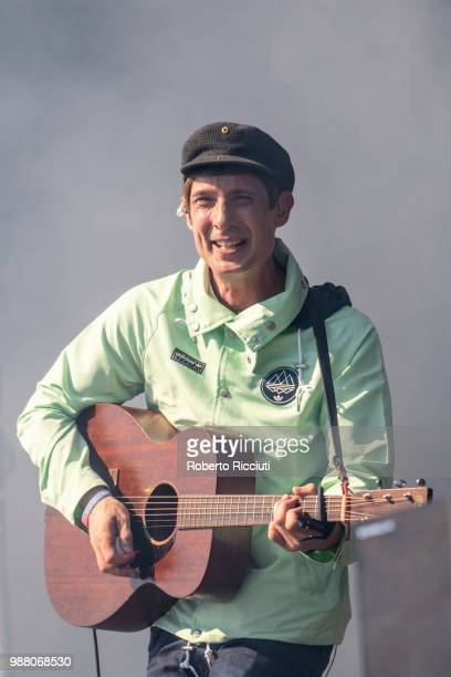 Gerry Cinnamon performs on stage during TRNSMT Festival Day 2 at Glasgow Green on June 30 2018 in Glasgow Scotland