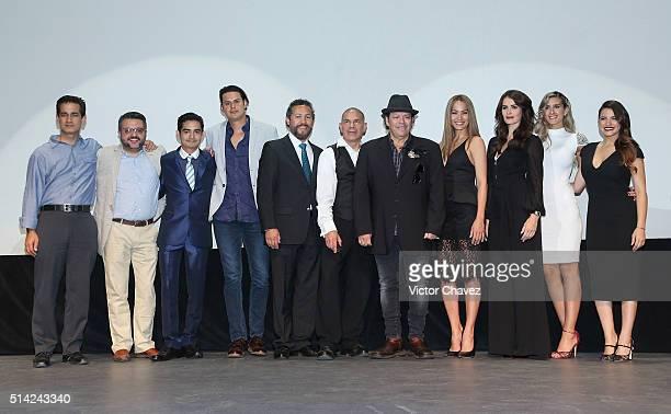 Gerry Contreras Said Israel guest Juan Menchaca guest Rene Pereyra Jessica Mas Ana Gonzalez Rocio Garcia and Maite Perroni attend El Arribo De...