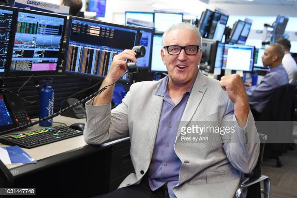Gerry Cooney attends the Annual Charity Day hosted by Cantor Fitzgerald BGC and GFI at Cantor Fitzgerald on September 11 2018 in New York City