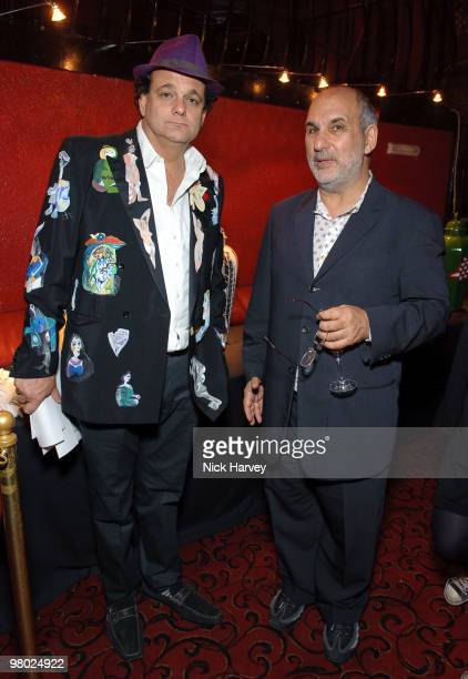 Gerry Fox and Alan Yentob attend The ICA Fundraising Gala at KOKO on March 24, 2010 in London, England.