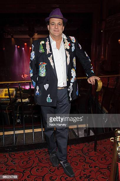 Gerry Fox attends The ICA Fundraising Gala at KOKO on March 24, 2010 in London, England.