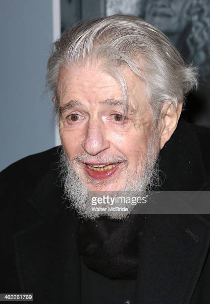 Gerry Goffin attends Beautiful The Carole King Musical Broadway Opening Night at Stephen Sondheim Theatre on January 12 2014 in New York City