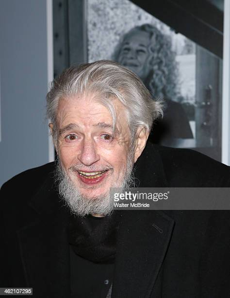 Gerry Goffin attends Beautiful The Carole King Musical Broadway Opening Nigh at Stephen Sondheim Theatre on January 12 2014 in New York City