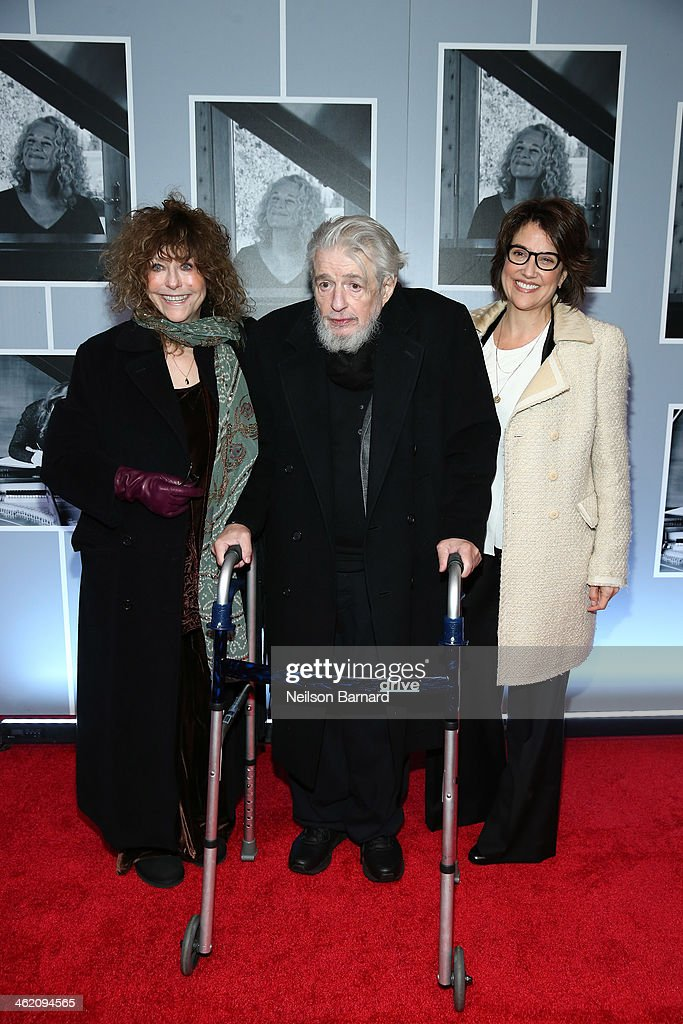 Gerry Goffin attends the opening night of 'Beautiful - The Carole King Musical' at The Stephen Sondheim Theatre on January 12, 2014 in New York City.