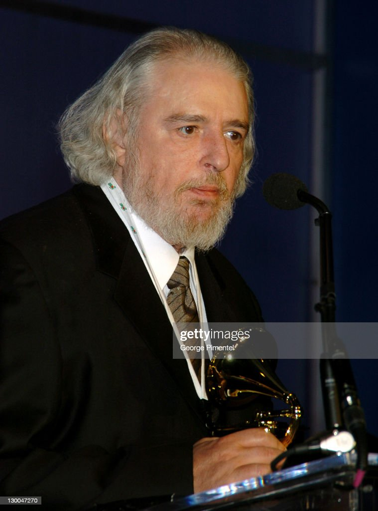 Gerry Goffin during The 46th Annual GRAMMY Awards - Nominee Reception and Special Awards Ceremony at California Science Center in Los Angeles, California, United States.