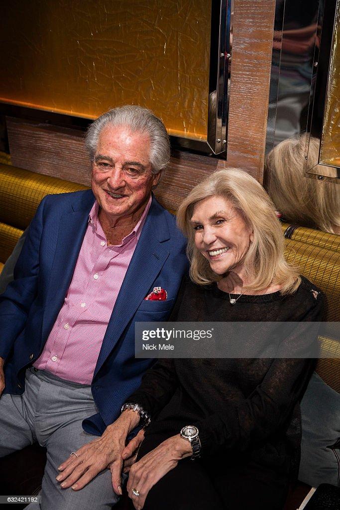 Gerry Goldsmith and Roni Goldsmith attend AVENUE Celebrates Kara Ross and the Palm Beach A List at Meat Market Palm Beach on January 19, 2017 in Palm Beach, FL.