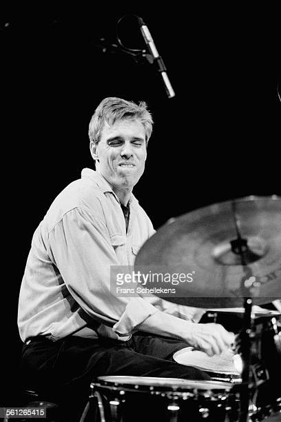 Gerry Hemingway, drums, performs on November 9th 1997 at the BIM huis in Amsterdam, Netherlands.