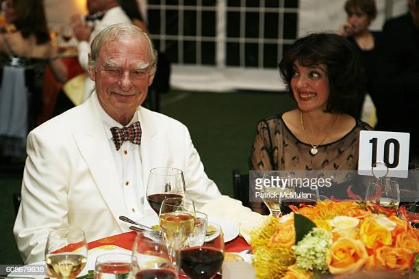 Gerry Lenfest and Catherine Commisso attend The 4th Annual MILLER THEATRE SPRING GALA Honoring GERRY LENFEST at Columbia University on June 14 2007...